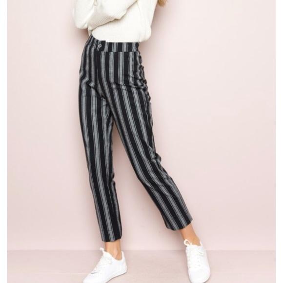 Brandy Melville Pants - PacSun Brandy Melville striped pants ac022b700